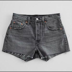 Levi's 501 High Rise Stretch Shorts